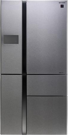 Холодильник Sharp SJPX99FSL серебристый
