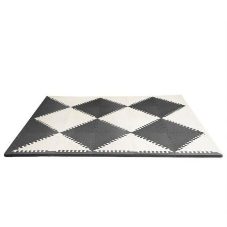 Напольный коврик Гео (черный/кремовый) напольный коврик черный кремовый