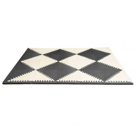 Напольный коврик (черный/кремовый) напольный коврик черный кремовый