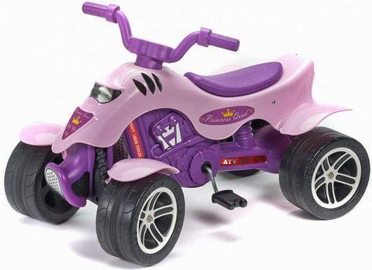 Каталка-квадроцикл Falk Принцесса пластик от 3 лет на колесах лиловый FAL608 каталка квадроцикл falk принцесса лиловый от 3 лет пластик fal608