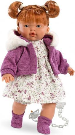 Кукла Llorens Алиса 33 см плачущая 33282 кукла хейди 33 см llorens