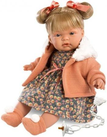 Кукла Llorens Жоэль 38 см со звуком 38320 кукла лорана llorens 38 см
