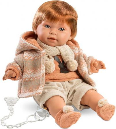 Кукла Llorens Кристиан 42 см плачущая 42331 кукла llorens анна 42 см