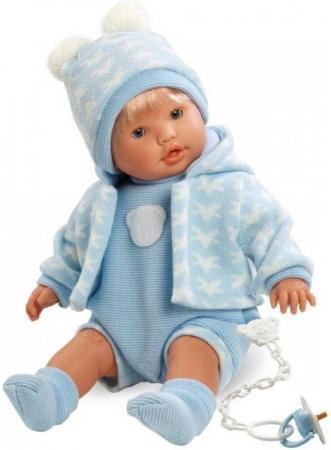 Кукла Llorens Нико 48 см плачущая 48229