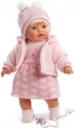 Кукла Llorens Ника 48 см плачущая 48230 llorens кукла валерия 28 см llorens