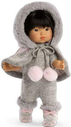 Кукла Валерия азиатка в сером 28 см llorens кукла балерина валерия 28 см llorens