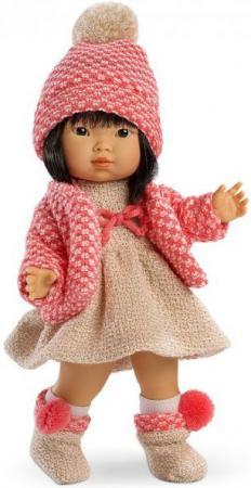 Кукла Валерия азиатка в коралловом 28 см llorens кукла валерия 28 см llorens