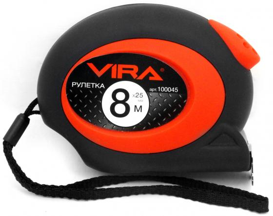 Рулетка Vira 100045 8мx25мм пассатижи vira 397017