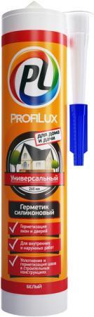 Герметик силиконовый PROFILUX CSS684WH универсальный 300мл белый герметик силиконовый зубр 41245 5