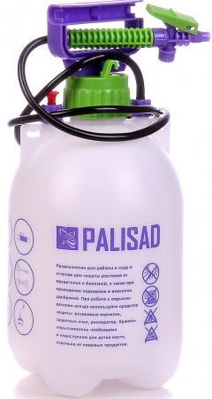 Опрыскиватель PALISAD 64740 ручной 5л насос шланг разбрызгиватель опрыскиватель ручной усиленный с горловиной 7л с насосом шлангом разбрызгиватель palisad