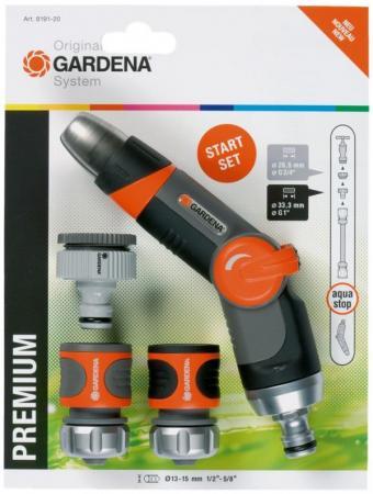 Комплект GARDENA Premium 18297-20.000.00 базовый 4 предмета цены