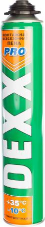 цена на Пена монтажная DEXX PRO 750мл полиуретановая всесезонная