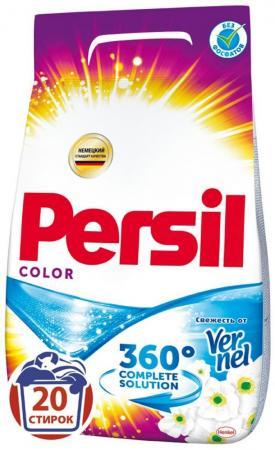 Стиральный порошок PERSIL Колор - Свежесть вернеля 3кг 2226580 стиральный порошок persil автомат голд сенситив плюс 1168723 3кг