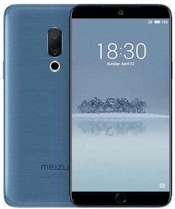 Смартфон Meizu 15 синий 5.46 64 Гб LTE Wi-Fi GPS 3G смартфон sony xperia xa1 dual черный 5 32 гб nfc lte wi fi gps 3g g3112blk