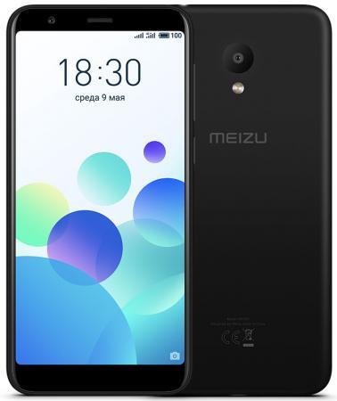 Смартфон Meizu M8с черный 5.45 16 Гб LTE Wi-Fi GPS 3G смартфон sony xperia xa1 dual черный 5 32 гб nfc lte wi fi gps 3g g3112blk