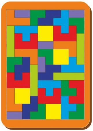 Настольная игра тетрис Woodland Большой тетрис стеллаж тетрис