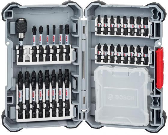 Набор оснастки BOSCH Impact Control (2.608.522.366) проф. биты + пластиковый контейнер набор оснастки bosch impact control 2 608 522 365 проф биты держатели и торц ключи