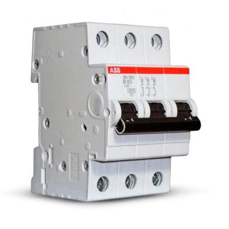 Автомат ABB S203 C10 3-полюсной