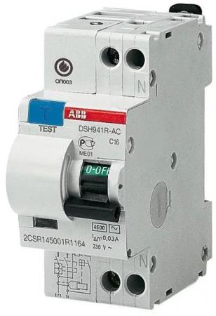 Диф. автомат ABB DSH941R C16 30мА тип АС