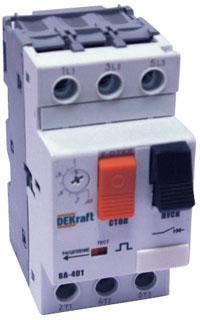 Выключатель DEKRAFT 21208DEK авт. защиты двиг. 13-18a ВА-401 выключатель dekraft 15007dek