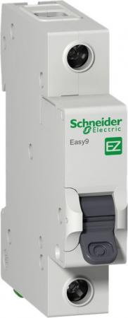 Выключатель автоматический Schneider Electric EASY9 ВА 1П 10А C 4.5кА 1DIN 1полюс 82х18мм автомат 1p 20а тип с 4 5ка schneider electric easy9