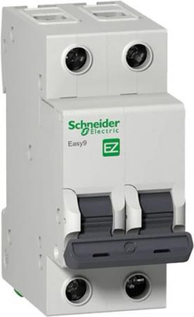 Выключатель автоматический Schneider Electric EASY9 ВА 2П 40А C 4.5кА 2DIN 2полюса 82х36мм автомат 1p 6а тип с 4 5ка schneider electric easy9