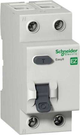 УЗО Schneider Electric EASY9 ВДТ 2П 25А 30мА AC защита от утечки на землю