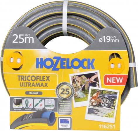 Шланг HOZELOCK 116251 TRICOFLEX ULTRAMAX 25м 3/8 пвх шланг hozelock 116787 super tricoflex ultimate