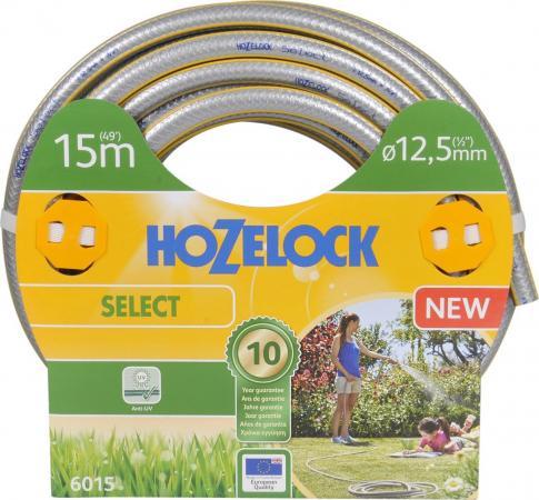 Шланг HOZELOCK 6015 SELECT 15м 1/2 пвх армированный шланг армированный усиленный зубр 40312