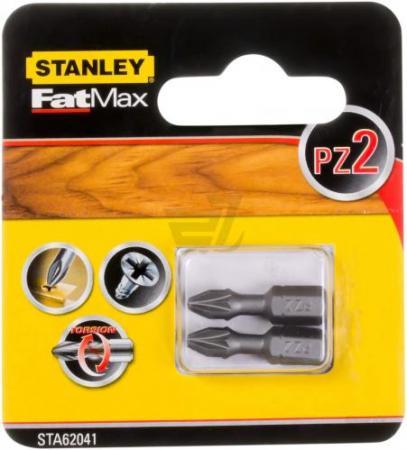 Бита STANLEY STA61041-XJ PZ2х25мм 2 шт бита stanley sta62041 xj fatmax torsion pz2х25мм 2 шт
