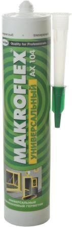Герметик силиконовый MAKROFLEX AX104 бесцветный (0.29л) герметик силиконовый зубр 41245 5