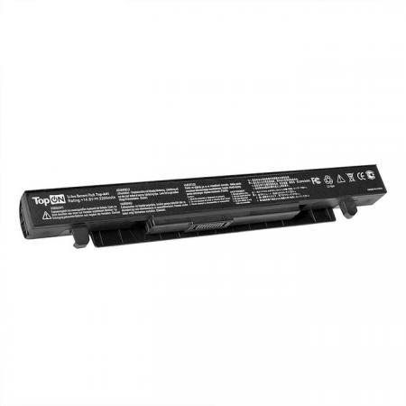 Аккумулятор для ноутбука Asus X550, X550D, X550A, X550L, X550C, X550V Series 2200мАч 14.4V TopON TOP-X550