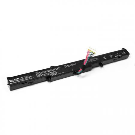Аккумулятор для ноутбука Asus A450E, A450J, A450JF, X450, X450E, X450J, X450JF Series 2200мАч 14.8V TopON TOP-X450J