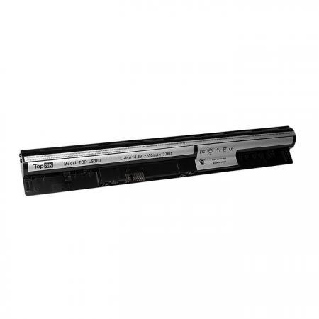 Аккумулятор для ноутбука Lenovo IdeaPad S300, S310, S400, S405, S410, S415 Series 2200мАч 14.8V TopON TOP-LS300 аккумулятор для ноутбука lenovo ideapad b40 b50 m4400 n40 v4400 eraser n50 series 2200мач 14 4v topon top v4400 32wh