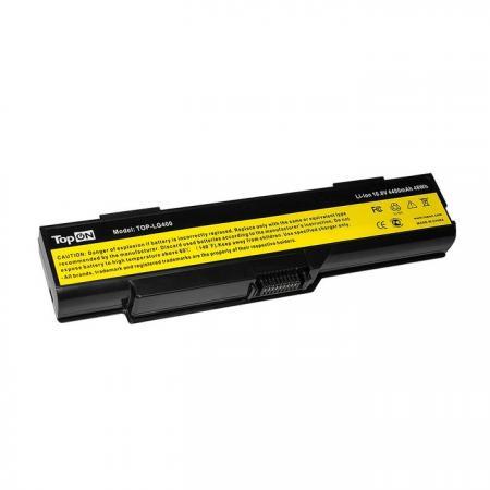 Фото - Аккумулятор для ноутбука Lenovo 3000 C460, C460A, C460M, C461, C465, C467, C510, G400, G410, G510 Series 4400мАч 10.8V TopON TOP-LG400 батарея для мобильных телефонов hb4w1 3 7v huawei 1700mah g510 t8951 u8951d y210c c8951 c8813 for huawei g510 t8951 hb4w1