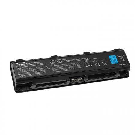 Аккумулятор для ноутбука Toshiba Satellite C40, C45, C50, C50T, C55DT, C70, C70-A, Pro C70, Pro C70-A, C75, C75D, C75DT, C75T Series — 10.8V TopON TOP-PA5109U h000062020 main board for toshiba satellite c50 c55 15 6 screen laptop motherboard gt710m ddr3