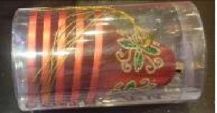 Украшение елочное КОЛОКОЛЬЧИКИ, блестящие 6 шт. в прозрачной коробке, 10 см, 5 цв. цена и фото