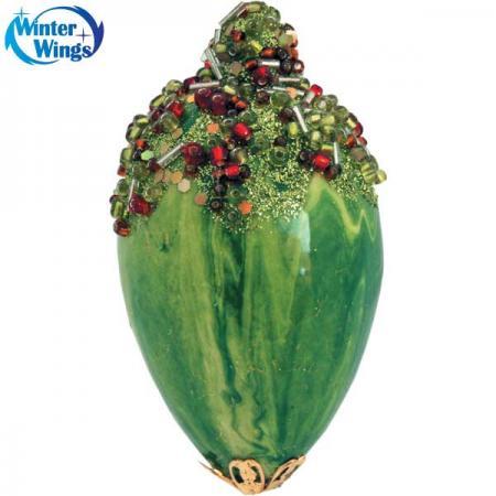 Украшение елочное ПОДВЕСКА, 1 шт., 10,5 см, 1 цв., в пакете цена и фото