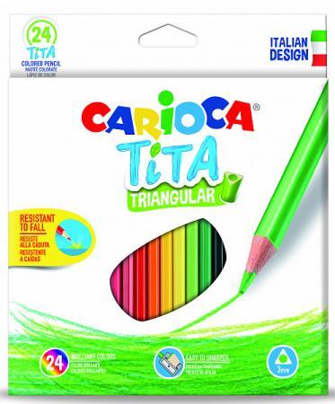 Набор цветных карандашей CARIOCA Tita 24 шт