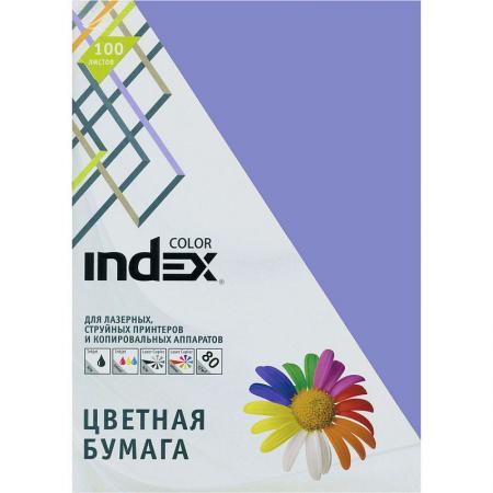 Цветная бумага Index Color IC86/100 A4 100 листов IC86/100 переплетчик gbc combbind 100 a4 перфорирует 9 листов сшивает 160 листов пластиковые пружины 6 19мм 4