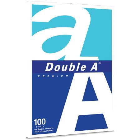 Бумага DOUBLE A, А4, белизна 175%CIE, 80 г/м, 100 л, эвкалипт/R фото