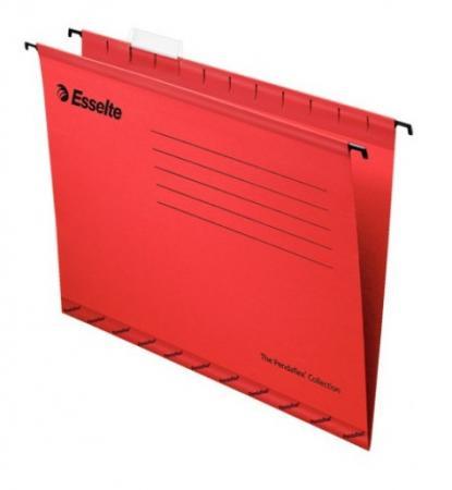 Подвесная папка ESSELTE PENDAFLEX PLUS FOOLSCAP, красный, цена за 1шт диакнеаль авен цена