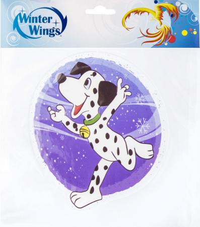Наклейка Winter Wings Собака далматинец 15х15 см