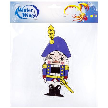 Наклейка Winter Wings Щелкунчик 20х20 см наклейка winter wings новогодняя сказка 9x12 см