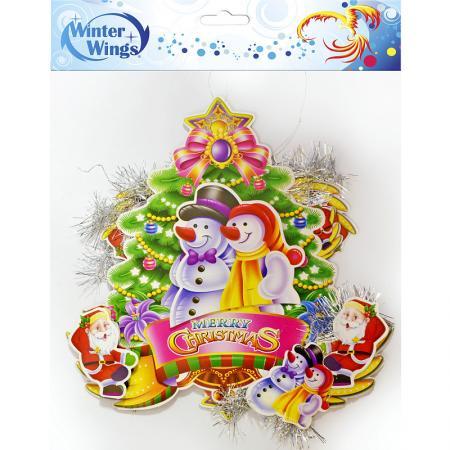 Украшение новогоднее Winter Wings Украшение новогоднее 25 см цены онлайн