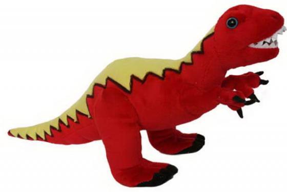 Мягкая игрушка дракон Winter Wings 40 см красный полиэстер дракон 40 см