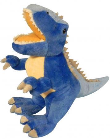 Мягкая игрушка дракон Winter Wings 40 см синий полиэстер дракон 40 см