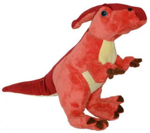 Мягкая игрушка дракон Winter Wings Огненный 40 см красный полиэстер дракон 40 см