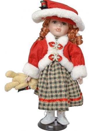 {1} кукла Winter Wings Игрушка СНЕГУРОЧКА, 30 см. пластик, полиэстр|2 30 см пластик полиэстер игрушка снегурочка 30 см пластик полиэстр 4