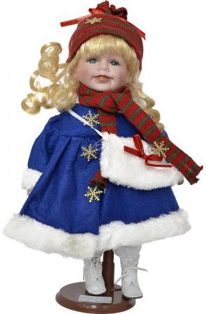 цены Новогодняя игрушка Winter Wings Cнегурочка 30 см пластик полиэстер